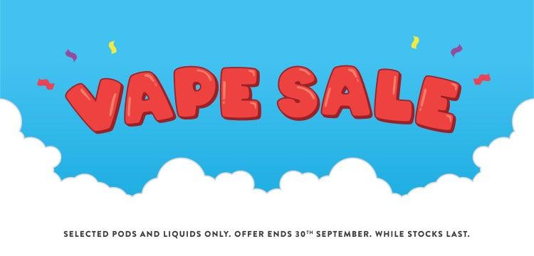 VAPE SALE!!!