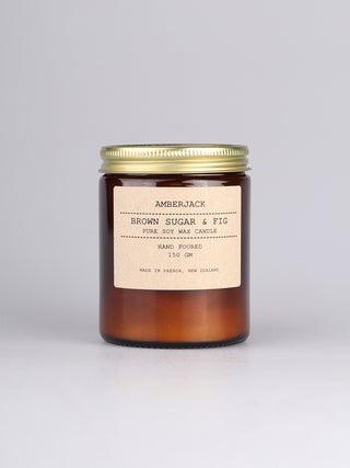 Amberjack Candle - Brown Sugar & Fig
