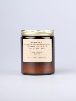 Amberjack Candle - Cedarwood & Ash