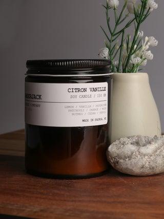 Amberjack Candle - Citron Vanille