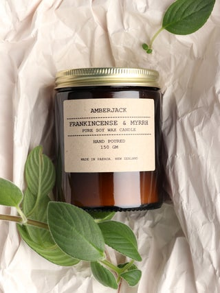 Amberjack Candle - Frankincense & Myrrh