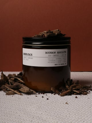 Amberjack Candle Large - Bourbon Absolute