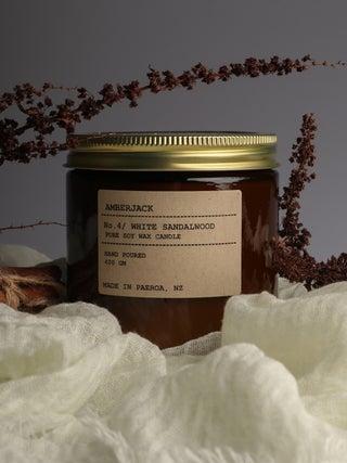 Amberjack Candle Large - White Sandalwood