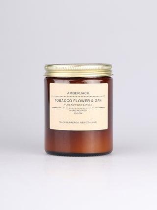 Amberjack Candle - Tobacco Flower & Oak