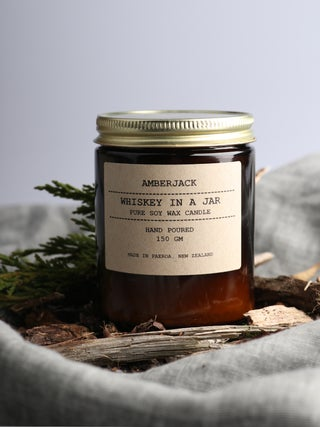 Amberjack Candle - Whiskey in a jar