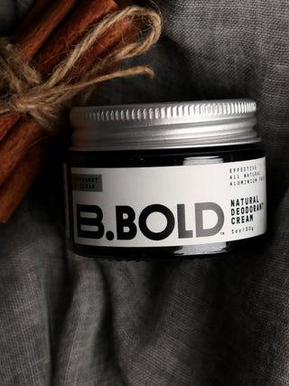 Bergamot & Cedar Deodorant Cream 30g