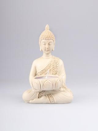Buddha Tealight Holder cream