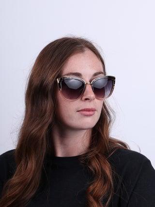 Cateye Metal Bridge Sunglasses