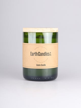 Cooks - Wine Bottle Candle