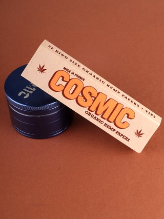 Cosmic Organic Hemp Papers w/ Tip K/S Vintage