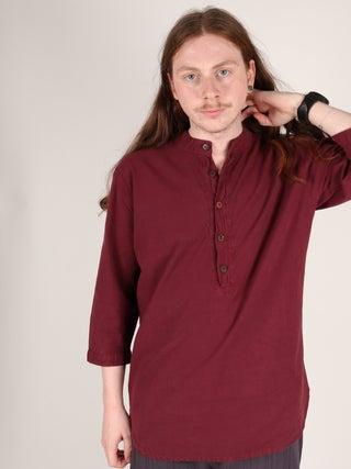 Cotton Kurtha- 3/4 Sleeve
