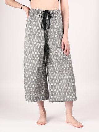Cotton Wide Leg Pants