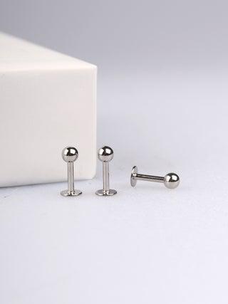 F2 Titanium Labret-1.2 x9.5mm-3mm ball