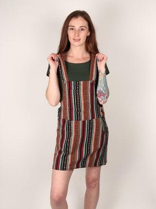 Gheri Cotton Overall Dress