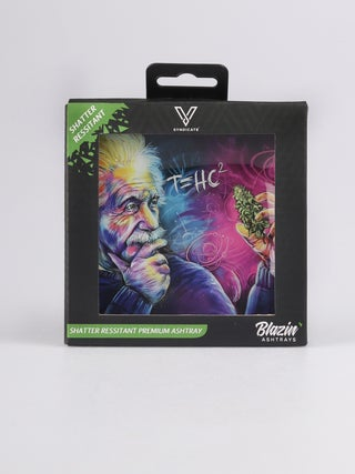 Glass Ashtrays:T=HC2 Einstein Classic
