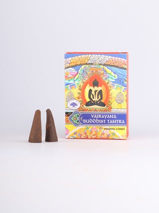 Green Tree Buddhist Tantra Cones