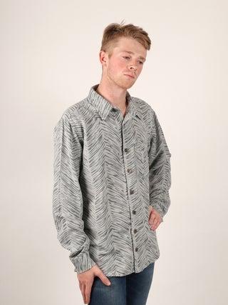 Hemp Patterned Shirt - 1 Pocket