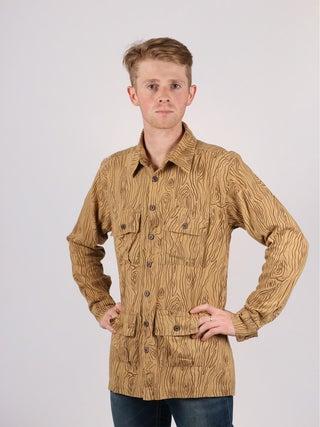 Hemp Patterned Shirt - 4 Pocket