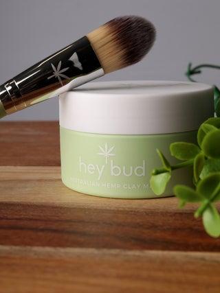 Hey Bud Hemp Clay Mask + Applicator Brush