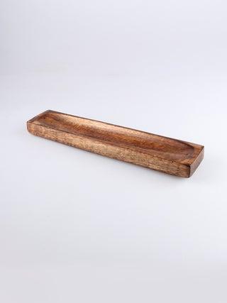 Incense Holder Antique Polished Boat