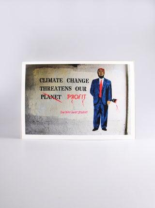 Int'l Street Art A4 Print - Climate
