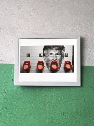 Int'l Street Art A4 Print - Rollin Trump