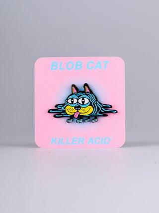 Killer Acid Blob Cat Pin