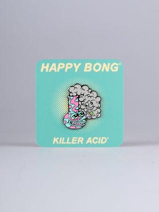 Killer Acid Happy Bong Pin