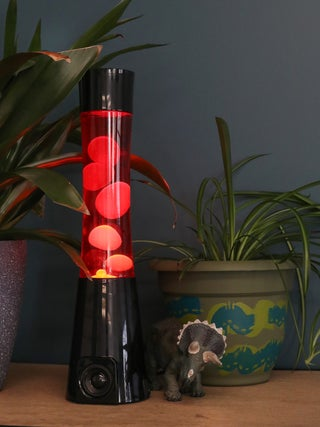 Lava Lamp Bluetooth Black / Red / Yellow