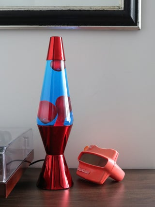 Lava Lamp Red / Blue / Red