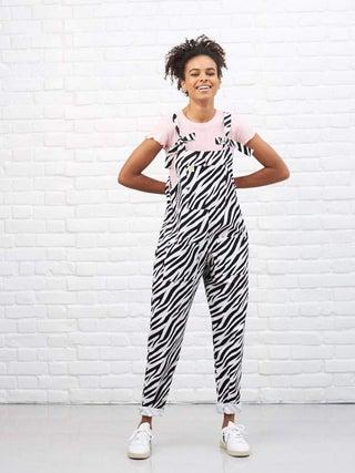 Lucy & Yak Ltd Edition Zebra Dungarees
