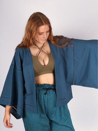 Mandala Kimono - Hemp Viscose