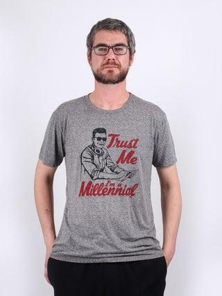 Mens Millenial Trust T-Shirt