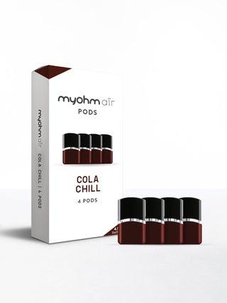 myohm Air Cola Chill Pod 4pc