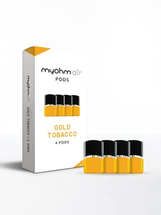myohm Air Gold Tobacco 4pc