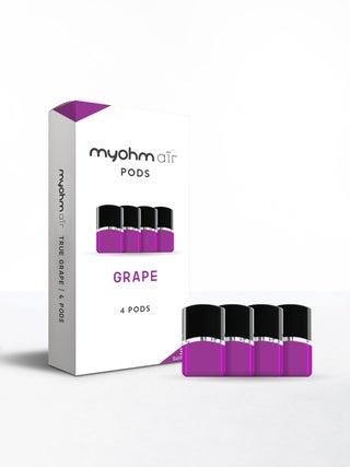 myohm Air Grape Pods 4pc
