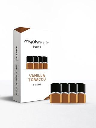 myohm Air Vanilla Tobacco 4pc