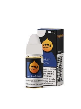 myohm American Tobacco 10ml Regular/Freebase