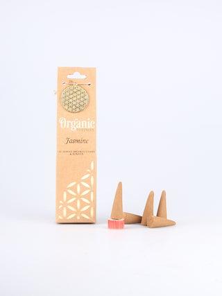 Organic Jumbo Cones - Jasmine