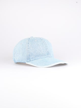 Plain Cotton Denim Cap