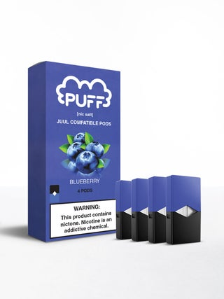 Puff Pods Blueberry 4pc