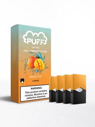 Puff Pods Mango Ice 4pc