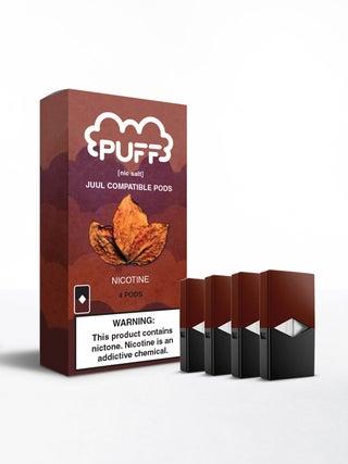 Puff Pods Tobacco 4pc