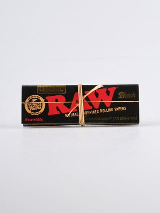 RAW Black Connoisseur 1 1/4 w Tip
