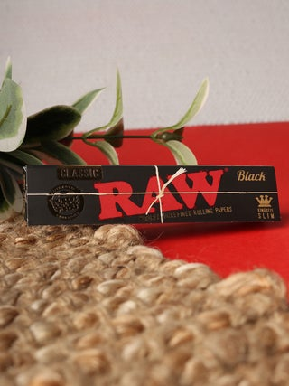 RAW Black K/S Slim Papers