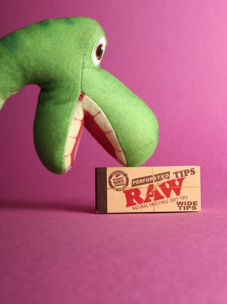 RAW Tips Wide Perforated