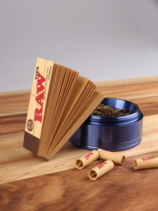 RAW Unbleached Roll-up Tips