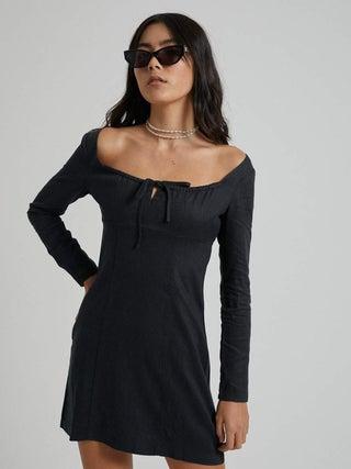 Ren - Hemp Long Sleeve Dress