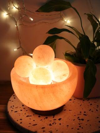 Salt Lamp Fire Balls