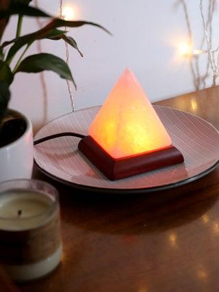 Salt Lamp USB Pyramid